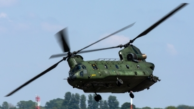 Photo ID 221945 by Thomas Ziegler - Aviation-Media. Netherlands Air Force Boeing Vertol CH 47D Chinook, D 106