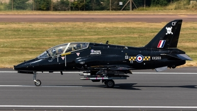 Photo ID 221947 by Thomas Ziegler - Aviation-Media. UK Air Force British Aerospace Hawk T 1A, XX203