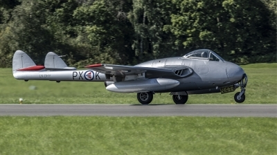 Photo ID 221955 by Stephen Cooper. Private Warbirds of Norway De Havilland DH 100 Vampire FB 6, LN DHY