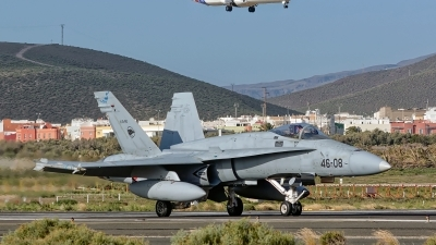 Photo ID 222048 by MANUEL ACOSTA. Spain Air Force McDonnell Douglas F A 18A Hornet, C 15 80