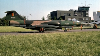 Photo ID 222078 by Alex Staruszkiewicz. Belgium Air Force Lockheed F 104G Starfighter, FX 93