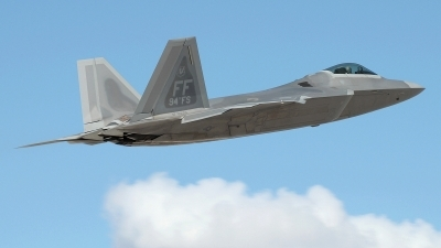 Photo ID 222226 by Peter Boschert. USA Air Force Lockheed Martin F 22A Raptor, 05 4094