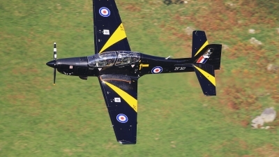 Photo ID 222193 by Barry Swann. UK Air Force Short Tucano T1, ZF317
