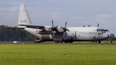 Photo ID 222216 by Sascha Gaida. Netherlands Air Force Lockheed C 130H Hercules L 382, G 275