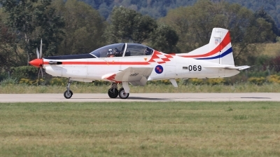 Photo ID 222212 by Milos Ruza. Croatia Air Force Pilatus PC 9M, 069