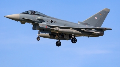 Photo ID 222204 by Mathias Grägel - GME-AirFoto. Germany Air Force Eurofighter EF 2000 Typhoon S, 31 39