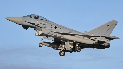Photo ID 222219 by Dieter Linemann. Germany Air Force Eurofighter EF 2000 Typhoon S, 31 07