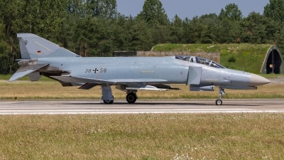 Photo ID 222223 by Sascha Gaida. Germany Air Force McDonnell Douglas F 4F Phantom II, 38 58