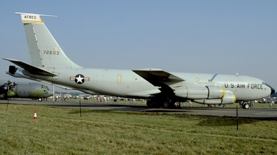 Photo ID 222228 by Giuseppe Tonelotto. USA Air Force Boeing KC 135E Stratotanker 717 100, 57 2603