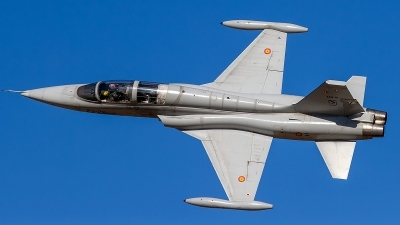 Photo ID 222303 by Filipe Barros. Spain Air Force Northrop SF 5M Freedom Fighter, AE 9 18