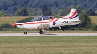 Photo ID 222326 by Milos Ruza. Croatia Air Force Pilatus PC 9M, 064