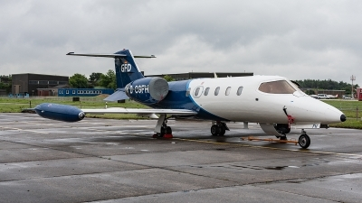 Photo ID 222373 by Jan Eenling. Company Owned GFD Learjet 35A, D CGFH