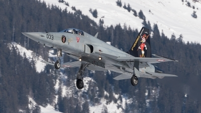 Photo ID 222417 by Luca Fahrni. Switzerland Air Force Northrop F 5E Tiger II, J 3033