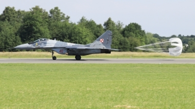 Photo ID 222428 by Milos Ruza. Poland Air Force Mikoyan Gurevich MiG 29A 9 12A, 40