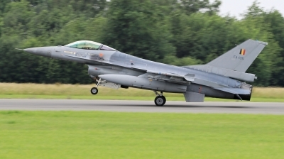 Photo ID 222431 by Milos Ruza. Belgium Air Force General Dynamics F 16AM Fighting Falcon, FA 135