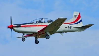 Photo ID 222484 by Radim Spalek. Croatia Air Force Pilatus PC 9M, 061
