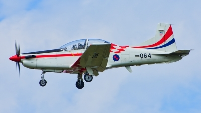 Photo ID 222485 by Radim Spalek. Croatia Air Force Pilatus PC 9M, 064