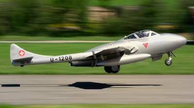 Photo ID 222507 by Sven Zimmermann. Private Fliegermuseum Altenrhein De Havilland DH 115 Vampire T 55, HB RVF