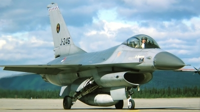 Photo ID 222550 by Arie van Groen. Netherlands Air Force General Dynamics F 16A Fighting Falcon, J 246