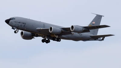 Photo ID 222537 by Brandon Thetford. USA Air Force Boeing KC 135R Stratotanker 717 148, 57 1487