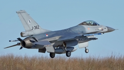 Photo ID 222591 by Dieter Linemann. Netherlands Air Force General Dynamics F 16AM Fighting Falcon, J 362