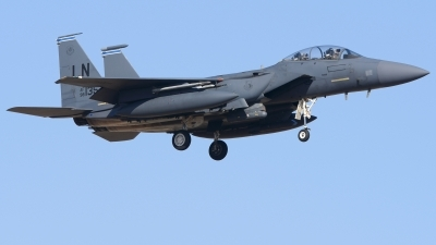 Photo ID 222659 by Alberto Gonzalez. USA Air Force McDonnell Douglas F 15E Strike Eagle, 98 0135