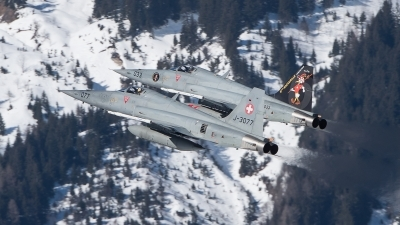 Photo ID 222663 by Luca Fahrni. Switzerland Air Force Northrop F 5E Tiger II, J 3033