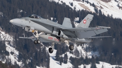Photo ID 222668 by Luca Fahrni. Switzerland Air Force McDonnell Douglas F A 18C Hornet, J 5023