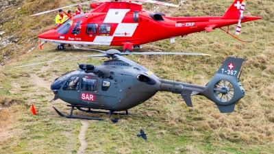 Photo ID 222726 by Agata Maria Weksej. Switzerland Air Force Eurocopter EC 635P2, T 367