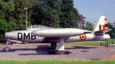 Photo ID 222730 by Sven Zimmermann. Belgium Air Force Republic F 84E Thunderjet, FS 17