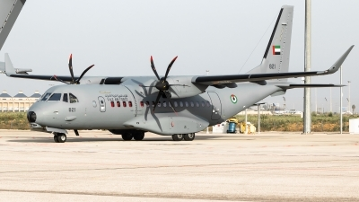 Photo ID 222801 by Santos. United Arab Emirates Air Force CASA C 295W, 821
