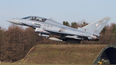 Photo ID 222824 by Jens Wiemann. Germany Air Force Eurofighter EF 2000 Typhoon T, 30 71