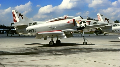 Photo ID 222841 by Gerrit Kok Collection. USA Marines McDonnell Douglas A 4L Skyhawk, 150598