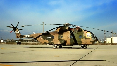Photo ID 222886 by Gerrit Kok Collection. USA Air Force Sikorsky CH 3E Jolly Green, 65 5690