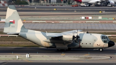 Photo ID 222911 by F. Javier Sánchez Gómez. Oman Air Force Lockheed C 130H Hercules L 382, 503