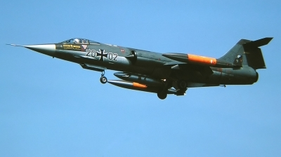 Photo ID 222952 by Arie van Groen. Germany Air Force Lockheed F 104G Starfighter, 20 02