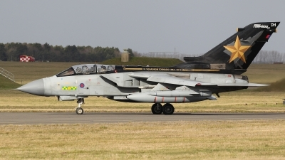 Photo ID 222958 by Barry Swann. UK Air Force Panavia Tornado GR4, ZD716