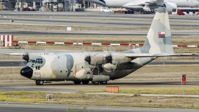 Photo ID 222961 by Ruben Galindo. Oman Air Force Lockheed C 130H Hercules L 382, 503