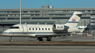 Photo ID 223022 by Thomas Ziegler - Aviation-Media. Croatia Government Canadair CL 600 2B16 Challenger 604, 9A CRO