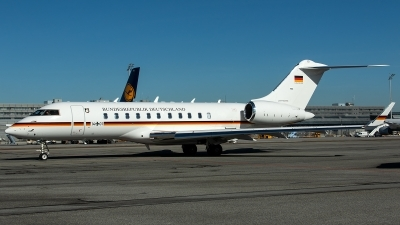 Photo ID 223024 by Thomas Ziegler - Aviation-Media. Germany Air Force Bombardier BD 700 1A11 Global 5000, 14 01