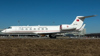 Photo ID 223027 by Thomas Ziegler - Aviation-Media. Turkey Air Force Gulfstream Aerospace G 550 G V SP, 09 001