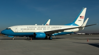 Photo ID 223091 by Thomas Ziegler - Aviation-Media. USA Air Force Boeing C 40C 737 7CP BBJ, 05 4613