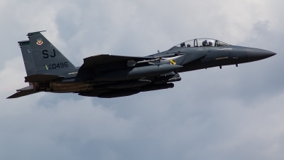 Photo ID 223245 by Brandon Thetford. USA Air Force McDonnell Douglas F 15E Strike Eagle, 89 0496