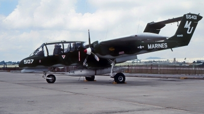 Photo ID 223370 by Gerrit Kok Collection. USA Marines North American Rockwell OV 10A Bronco, 155401