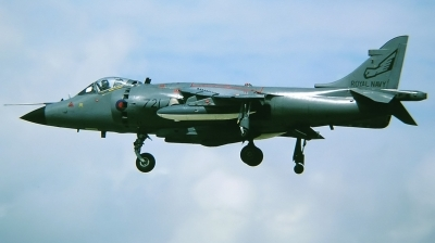 Photo ID 223427 by Arie van Groen. UK Navy British Aerospace Sea Harrier FRS 1, ZD581