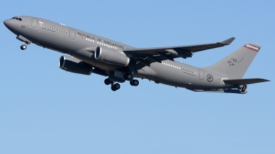 Photo ID 223433 by Alberto Gonzalez. Singapore Air Force Airbus A330 243MRTT, 762
