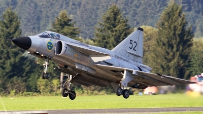 Photo ID 223450 by Walter Van Bel. Private Swedish Air Force Historic Flight Saab AJS37 Viggen, SE DXN