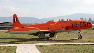 Photo ID 223497 by Stamatis Alipasalis. Greece Air Force Lockheed T 33A Shooting Star, 54951
