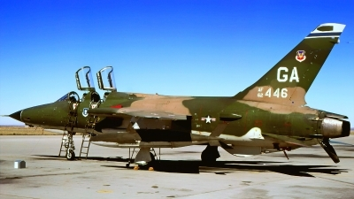 Photo ID 223617 by Gerrit Kok Collection. USA Air Force Republic F 105G Thunderchief, 62 4446