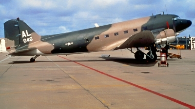 Photo ID 223618 by Gerrit Kok Collection. USA Air Force Douglas EC 47P Skytrain, 45 1046